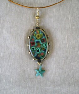 Millifiori pendant revised