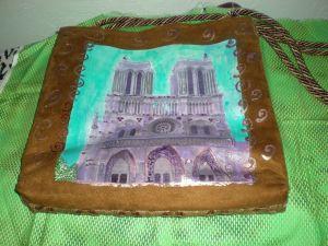 Notre Dame Purse